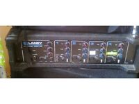 Laney theatre 100 4 channel PA mixer amp with reverb