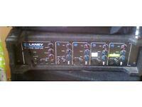 100 w pa mixer amp