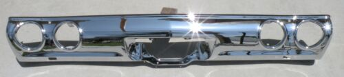 Chevrolet Malibu New Triple Plated Chrome Rear Back Bumper 1971 1972 71 72 Oem