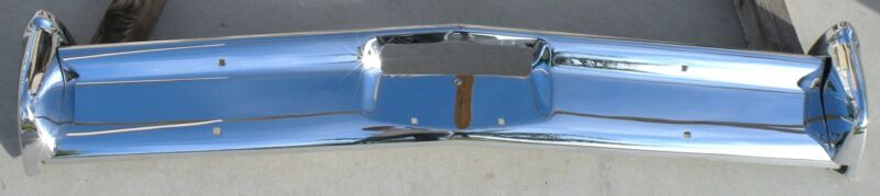 X Lincoln Continental New Triple Plated Chrome Front Bumper 1965 65 Oem