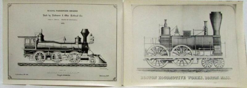 Trains - Photo Lot #4 - Illustrations