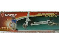 Razor Spark Kick Scooter. New in box