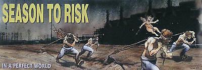 Season To Risk 1995 Perfect World Original Concert Poster