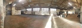 Various workshops/workspace /rehearsal space/ to let in a converted warehouse in a Neepsend