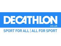 Department Manager @ Decathlon UK - manage your own sports business today!