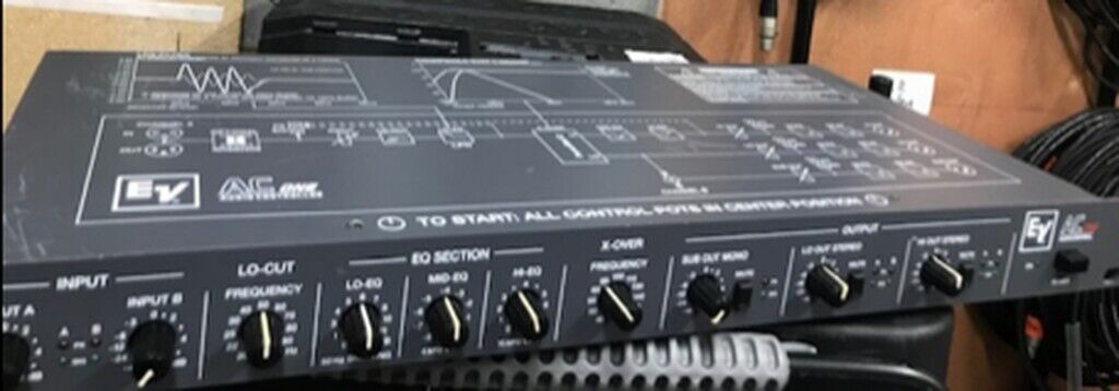 EV AC One Audio Controller / Crossover & EQ | in Harrow, London | Gumtree