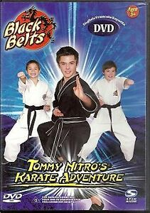 Tommy Nitro's Karate Adventure DVD-Karate for Beginners + bonus