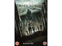 Maze Runner DVD Brand New and Sealed BARGAIN