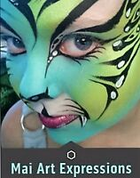 Mai Art Expressions:Face painting, Glitter tattoos, Belly paint