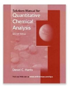 Solutions Manual for Quantitative Analysis 7thEd Daniel Harris