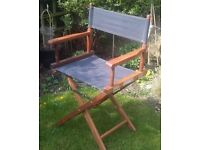 Directors Folding Chairs in Hardwood and Canvas