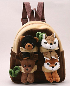 """Forest Animal Backpack 11"""" - Unipak - next to new condition"""