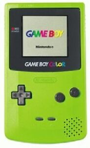 Gameboy Color (Green)