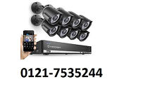 cctv camera hd system supplied and fitted cvi tvl