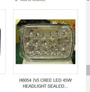 HEADLIGHT SEALED BEAM