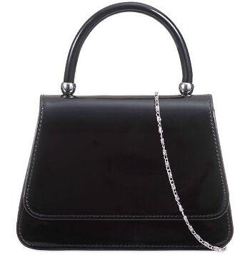 Black Handle Evening Bag