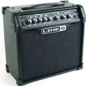 Line 6 15 watt amp. 1 x 8. Good condition
