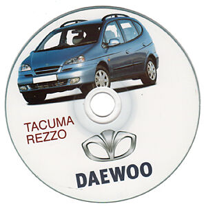 Daewoo Tacuma / Rezzo manuale officina workshop manual