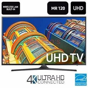 "Samsung 55"" Ultra HD 4K Smart Flat Panel TV, Open Box W/ Warr. Mobile Depot Macleod BlowOut Sale! Best Prices On All T.v"