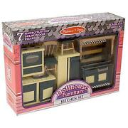 Dolls House Kitchen Set