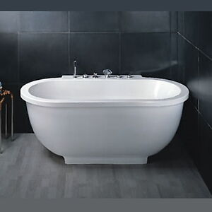 New AM128 - Whirlpool Bathtub for One Person
