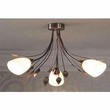 Next francesca antique brasscopper leaf ceiling light fitting in next francesca antique brasscopper leaf ceiling light fitting mozeypictures Images