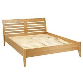 King size bed frame and mattress from John Lewis