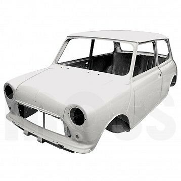 CLASSIC MINI HERITAGE NEW BODY SHELL IN PRIMER.