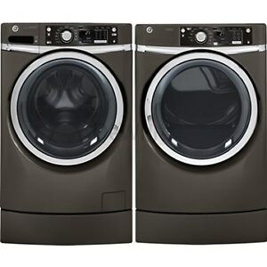 BRAND NEW WASHER & DRYER GE STEEM GRAY PAIR.MODEL.GFWS1705HDG