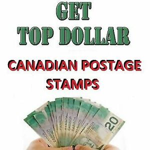 We Cash Up to $55,000 For Mint Canadian Postage Stamps