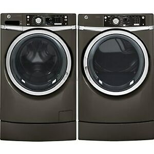 BRAND NEW WASHER DRYER GE STEEM WHITE PAIR.MODEL.GFW450SSMWW