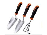 3 piece garden tool set