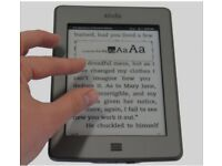 Amazon Kindle Touch 4th Generation 4GB, Wi-Fi, 6in D01200- text to speech feature