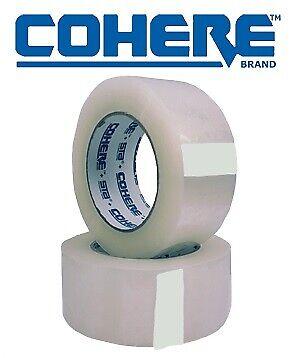 2 Rolls Carton Box Sealing Packaging Packing Tape 1.8mil 2 X 110 Yard 330 Ft