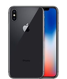iPhone X - 256GB - Space Grey - Case - Warranty