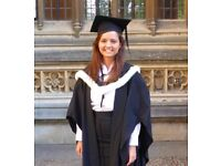 Oxford PPE Graduate Available to Tutor KS3, GCSEs A-Levels and University Admission in London
