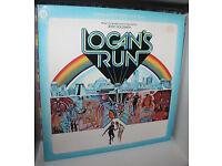 Soundtracks, Dune,Flash Gordon, Logans Run, Legend 7 Golden Vampires Vinyl LP's