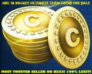 NHL 18 HUT Coins For Sale PS4 (100% legit! Have Proof)