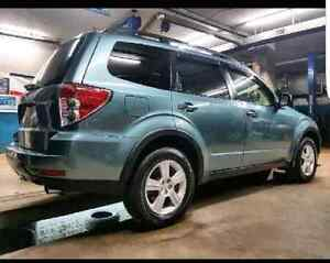 2009 subaru forester * 9000$ or trade for truck or large SUV