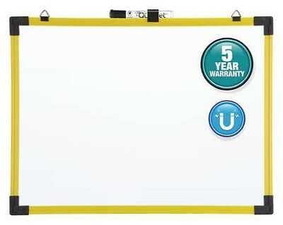 Quartet 724127 48x72 Magnetic Steel Whiteboard Yellow