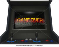 Arcade Games and Arcade Cabinets