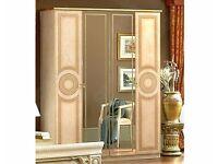 4 Door wardrobe BARGAIN £200 ONO