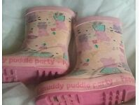 Next Peppa pig wellies 6