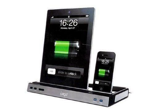 ipad docking station with speakers ebay. Black Bedroom Furniture Sets. Home Design Ideas