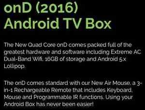 onD 4k Android TV Box with 3-Way Mouse and Full Support Kitchener / Waterloo Kitchener Area image 9