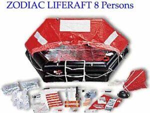 RADEU DE SAUVETAGE ZODIAC 8 PERSONNES  // Zodiac liferaft for 8
