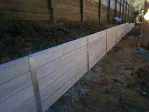 CONCRETE SLEEPER RETAINING WALL MATERIALS. Best Pricing in SE QLD Brisbane City Brisbane North West Preview