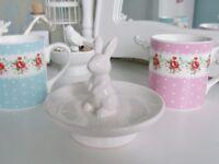 Bunny/Rabbit Ceramic Ring Holder