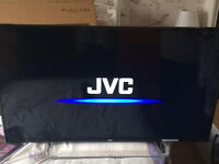 "JVC 40"" FULL HD LED TV (boxed) model LT-40C550 ,7 MONTHS OLD WITH RECEIPT. ALBA SOUNDBAR INCLUDED"