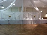 Wedding Backdrop for rent--$60